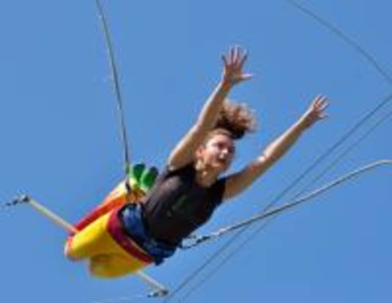 Turn Off Your Brain & Be in the Present Moment: Lessons From Flying Trapeze