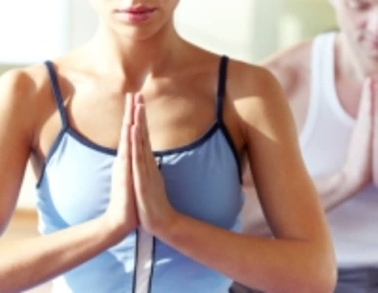 My Secret to Healthy Eating Is Yoga
