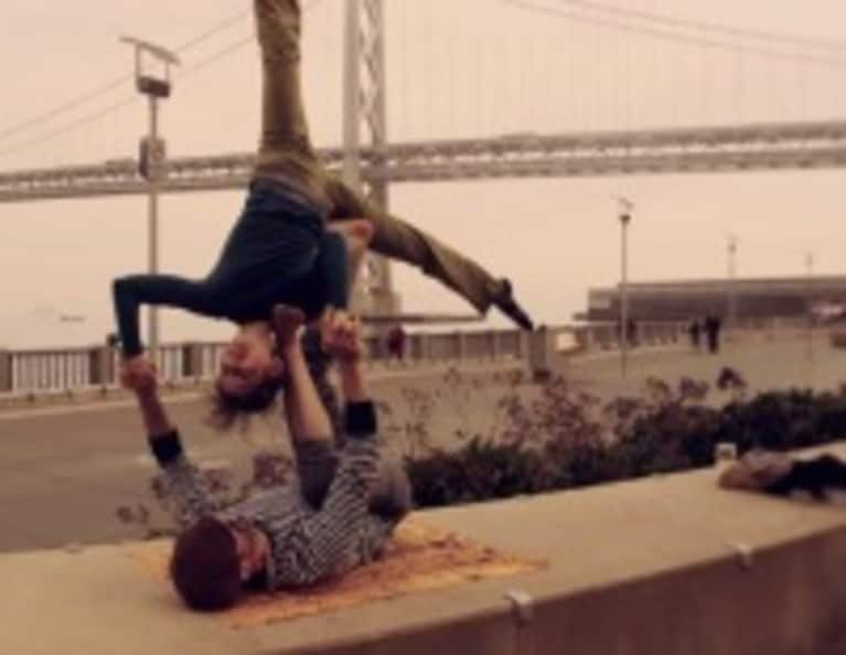 Acroyoga Playtime at the Embarcadero