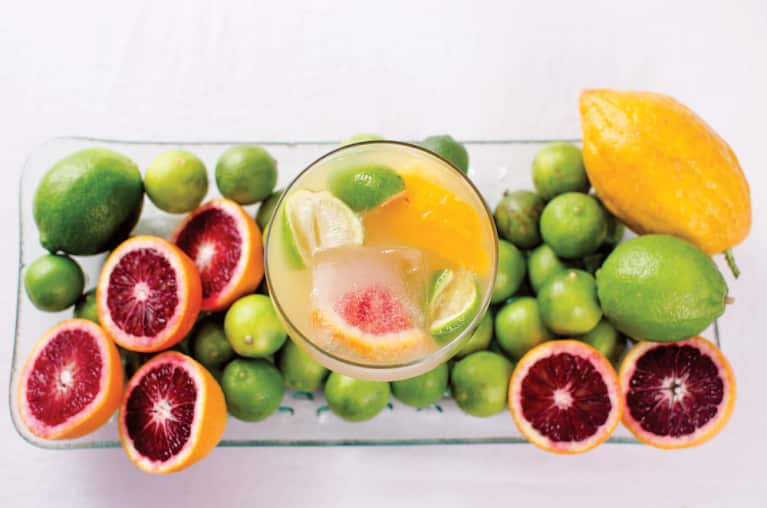 Healthier Happy Hour: Citrus-Packed Agave Margarita