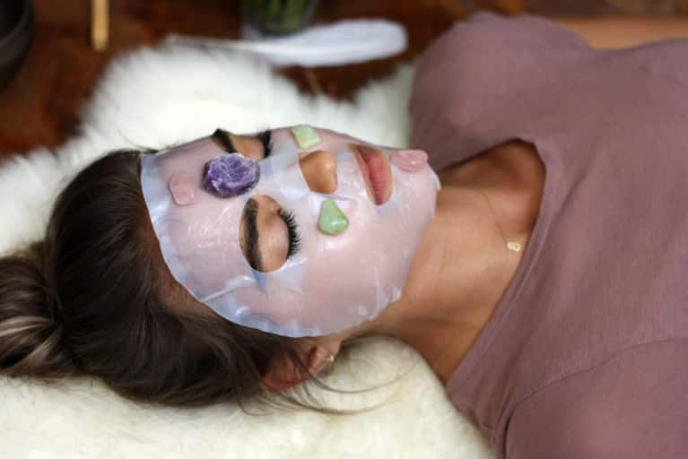 Gem Masks, Jade Rolling + Adaptogenic Beauty Dusts For Sparkly Skin