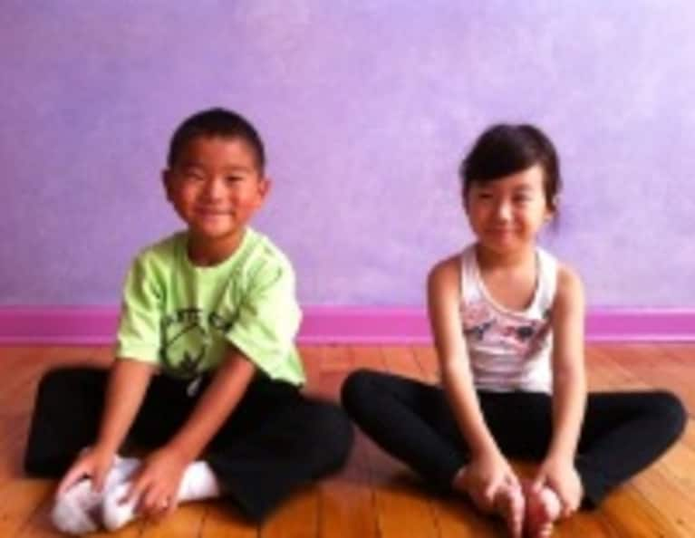4 Kid Poses for Springtime Yoga