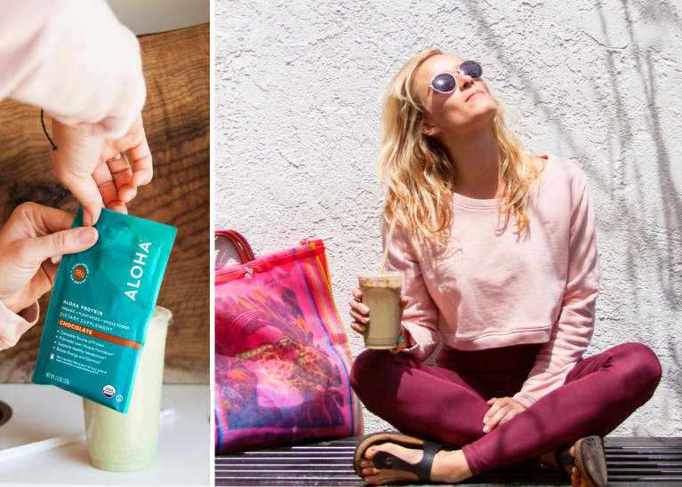A Globe-Trotting Yogi Shares Her Travel Must-Haves + The Stretches You Need For Pain-Free Trips