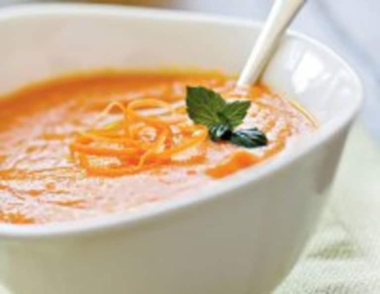 Delicious Vegan Carrot Ginger Soup