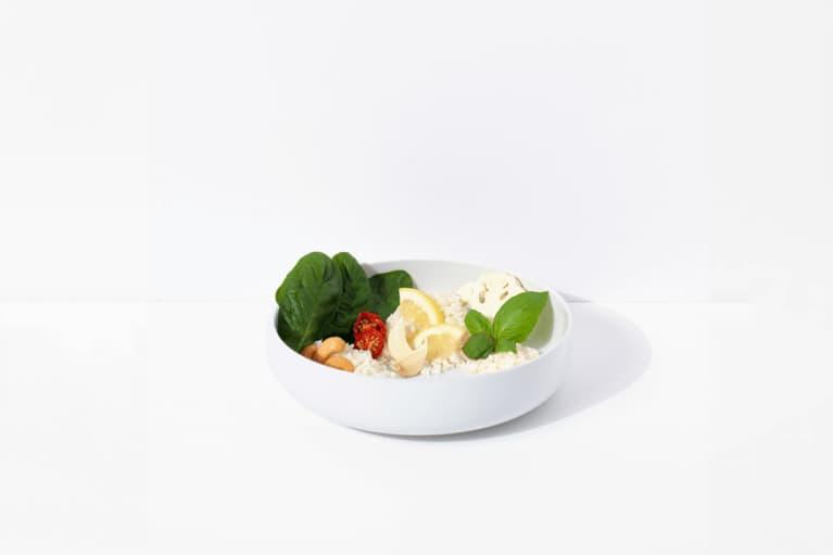 Cauliflower Rice + Pesto