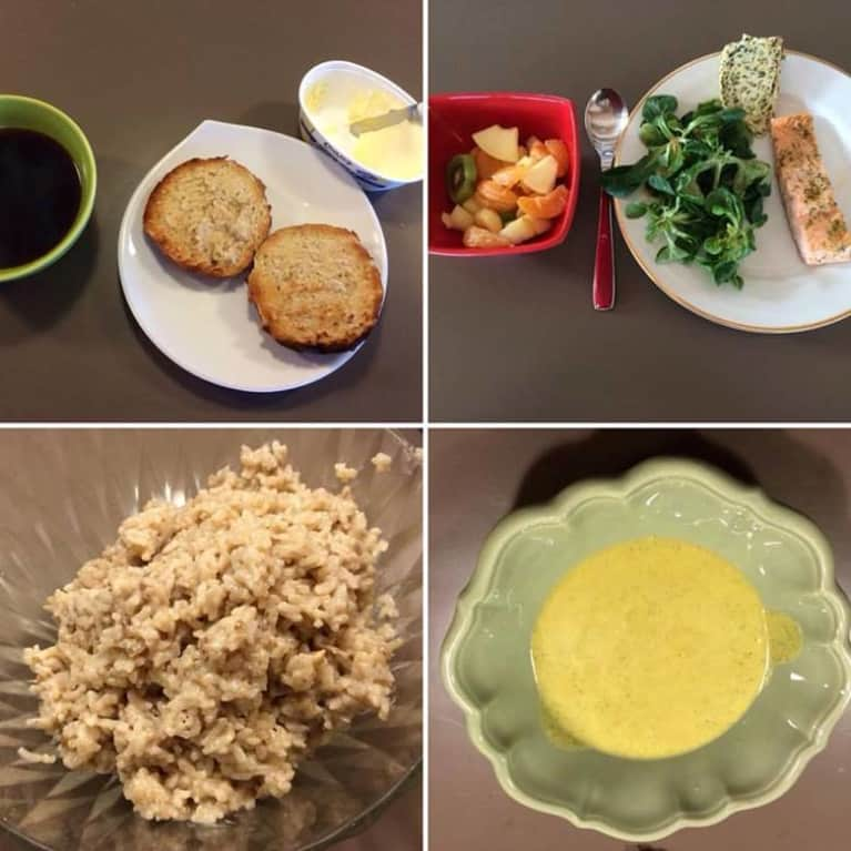 French girl meal plan