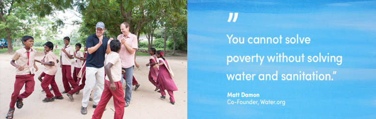 Matt Damon On How Fatherhood Drives Him To Fight For Water Access