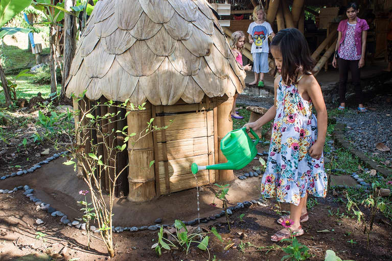 Is A Bamboo Hut In Bali The Future Of Education?