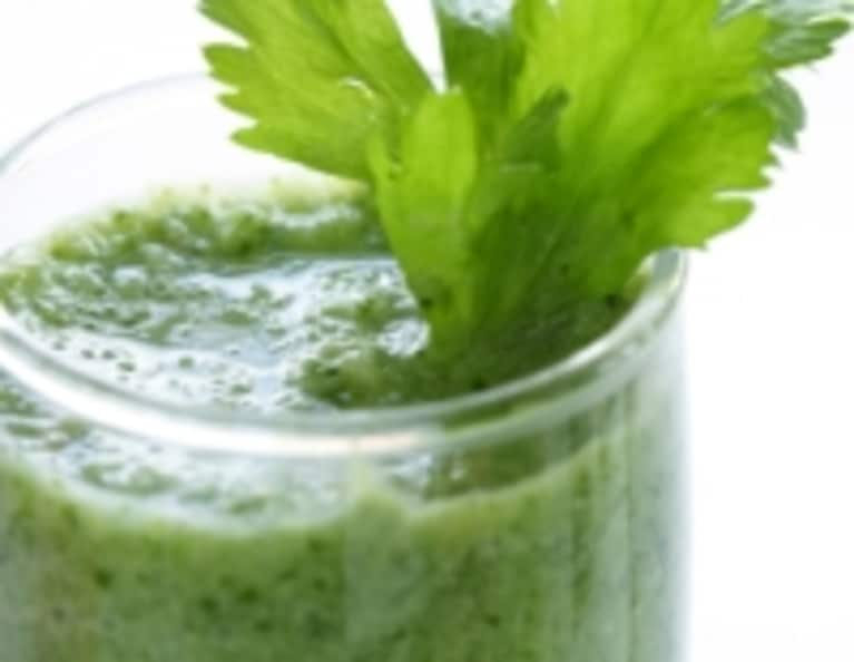 Green Gingersnap Smoothie