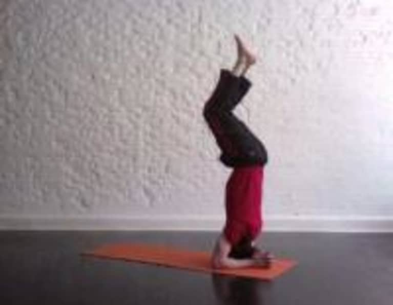 How To Do A Headstand With Michael Taylor