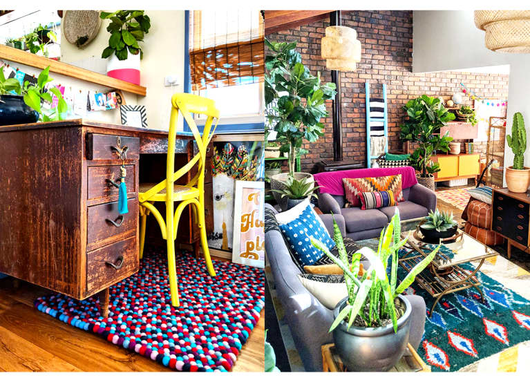 This Colorful Boho Home Is A Maximalist's Dream
