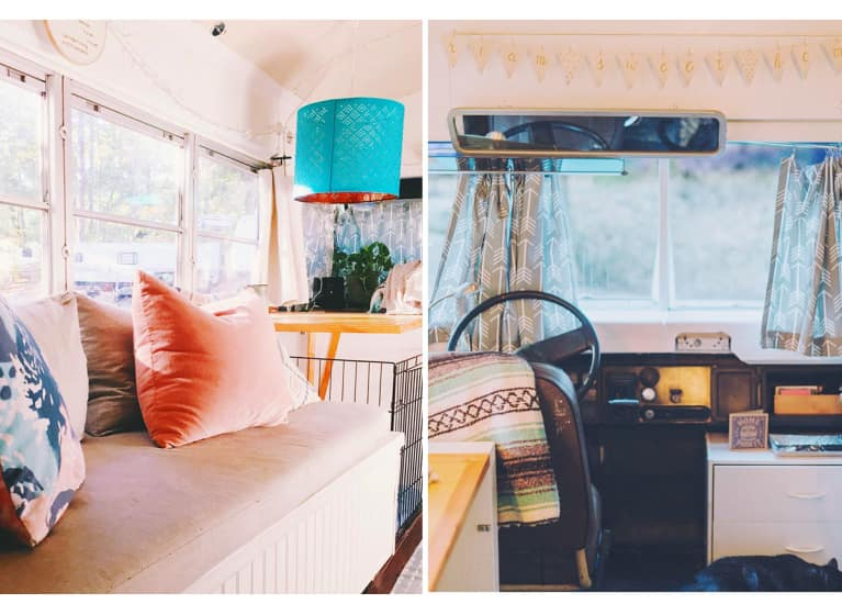 This School Bus Is The Cutest Tiny Home Ever. Let's Take A Tour