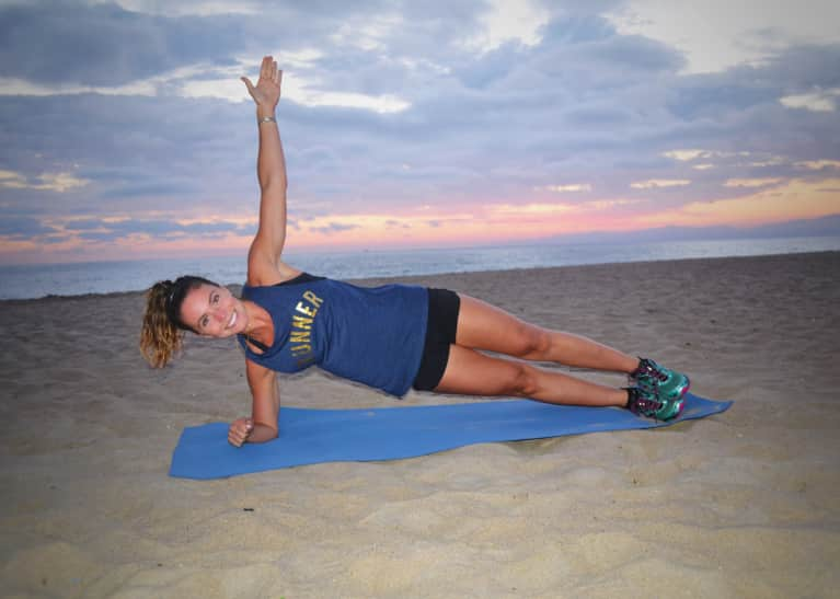 This Outdoor Strength Sequence Will Give You A Marathon-Ready Body