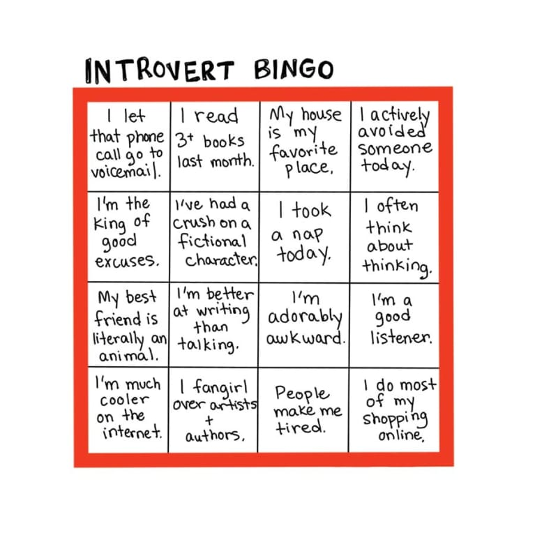 9 Illustrations Every Introvert Will Understand