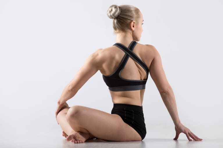 4 Yoga Poses That Come With Some Serious Beauty Benefits