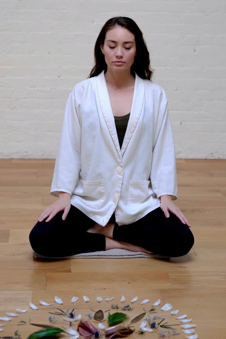 The Ultimate Ritual For Balance, According To A Meditation Expert
