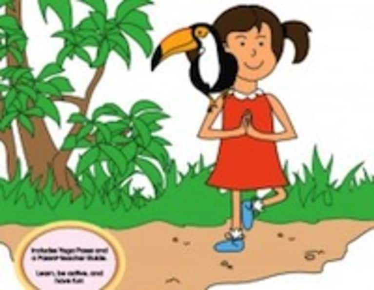 Kids Yoga Book Review: Sophia's Jungle Adventure