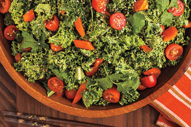 Fully Raw Kristina's Ridiculously Good Kale Salad