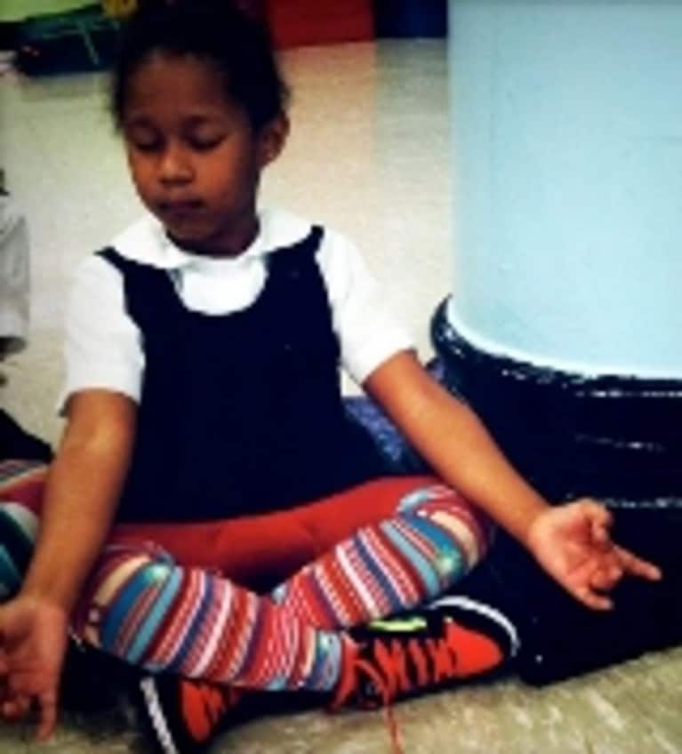 Meditation Eases School Stress for Kids