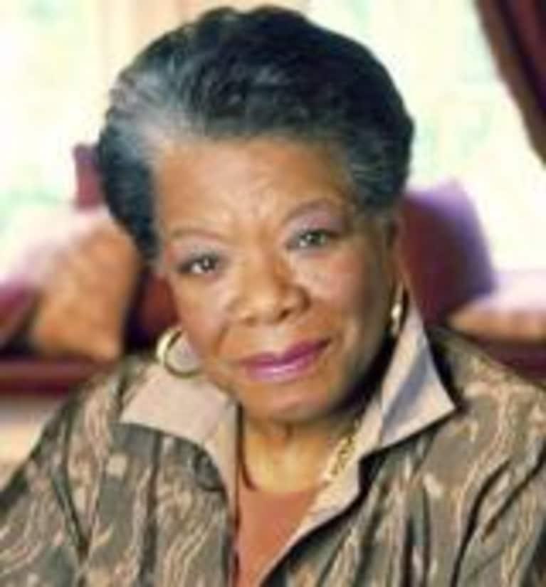 Maya Angelou on Goal Setting