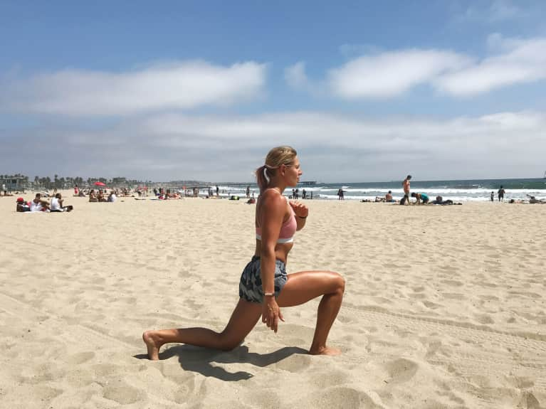Do This Beach Workout For Strong, Toned Surfer Legs