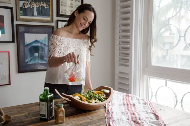 A Delicious Kabocha Squash & Pomegranate Salad Perfect For Your Next Potluck