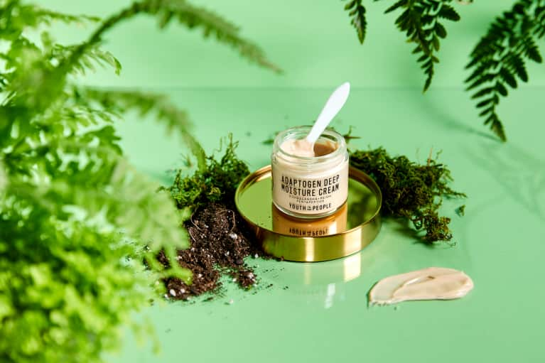 Stressed-Out Skin? Meet The Mushrooms & Herbs That'll Help Revitalize It