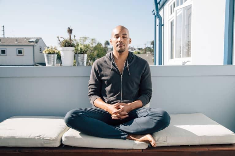 How An LA Meditation Teacher Keeps His Calm All Day Long