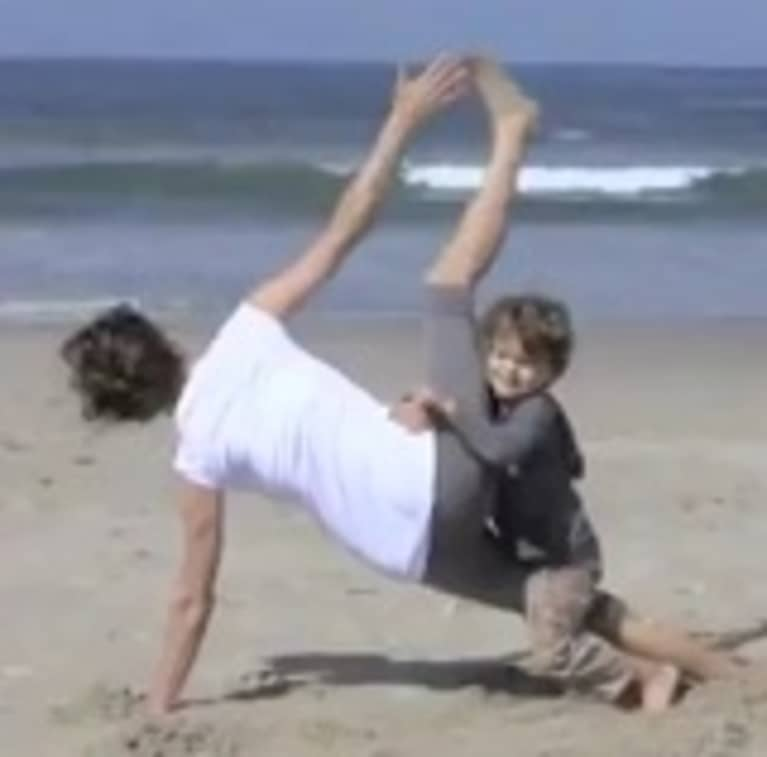 Cutest Mother's Day Yoga Video Ever