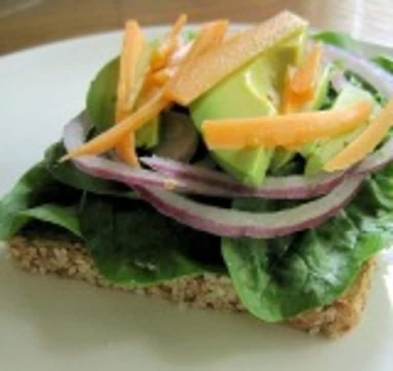 My Perfect Summer Lunch: Vegetarian Open Sandwich