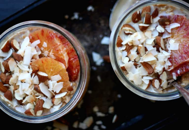 Orange Overnight Oats
