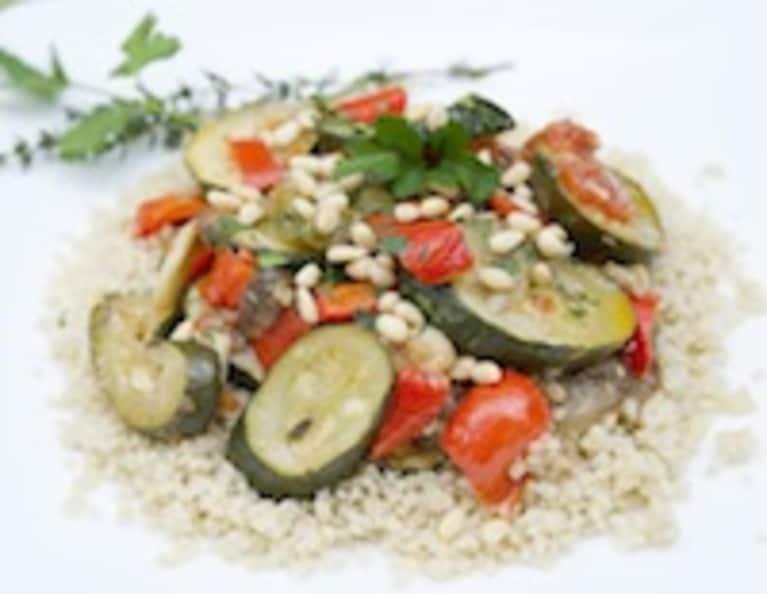 Ratatouille and Quinoa