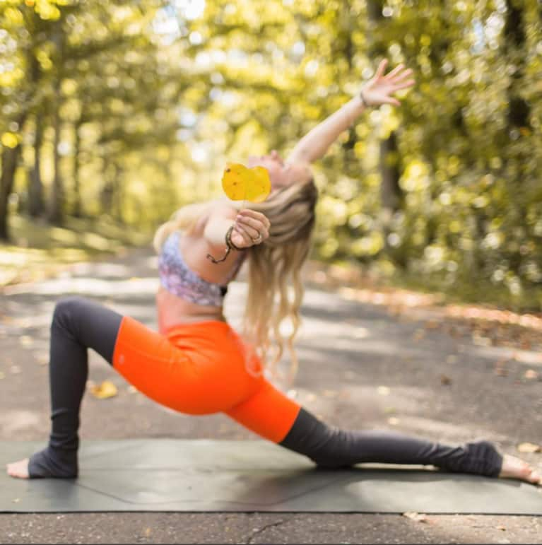 How To Create A Yoga Practice That's All About Gratitude