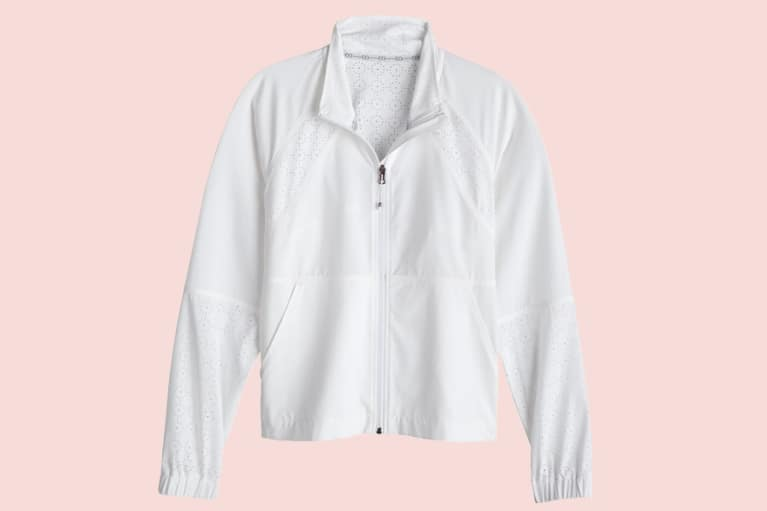 Women's Woven Full Zip Jacket
