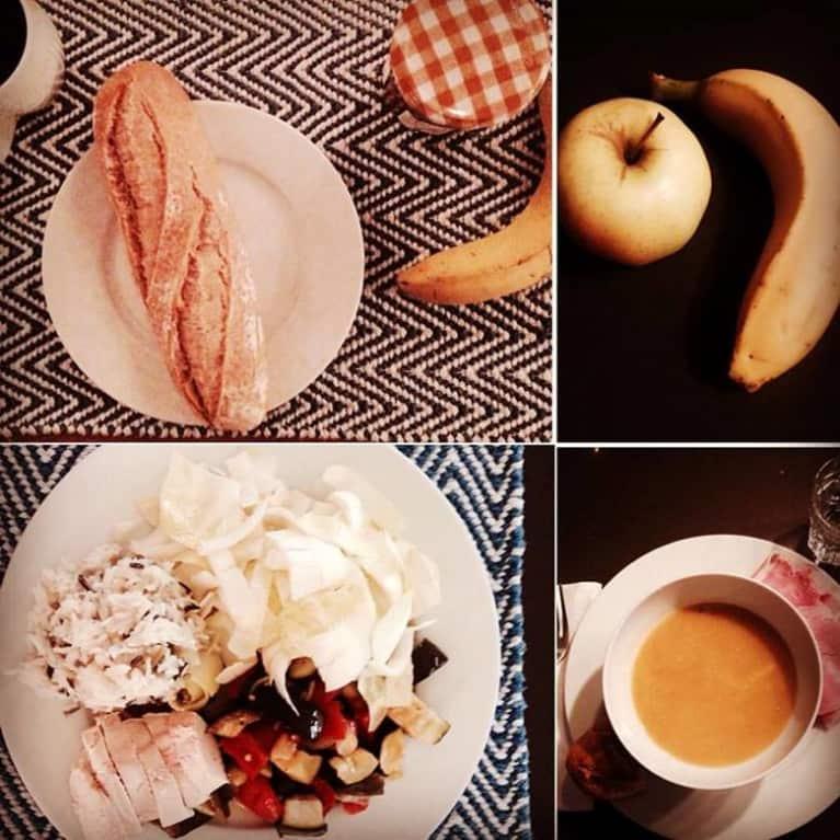 French girl sample meal plan