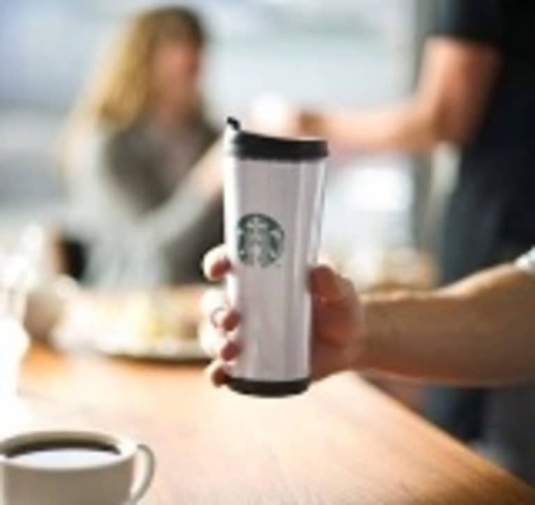 Free Earth Day Coffee at Starbucks with Travel Mug