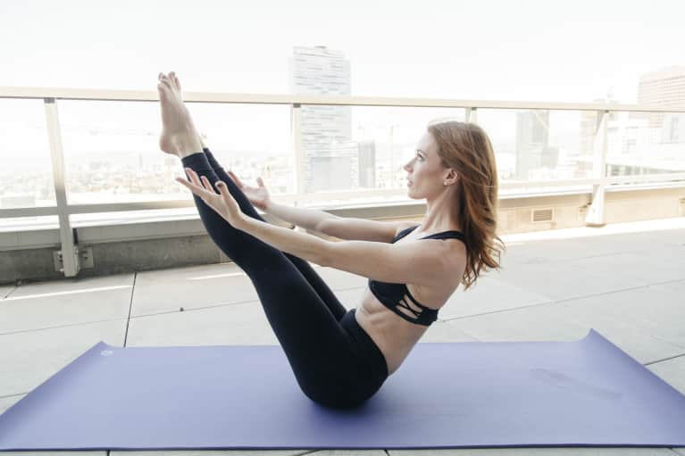 5 At-Home Barre Moves You Can Do To Strengthen Your Core