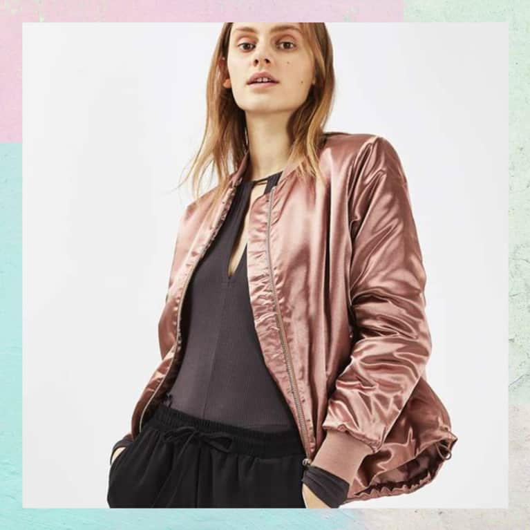 Trend Alert: Pale Pink Bombers Are About To Be Everywhere. Here Are Our Top Picks