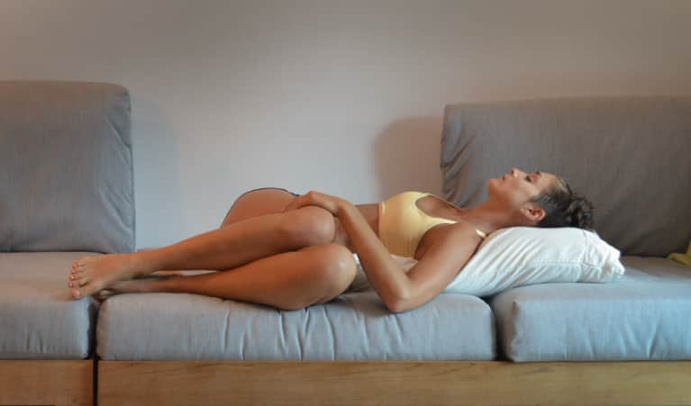 6 Relaxing Yoga Poses To Help You Fall Asleep