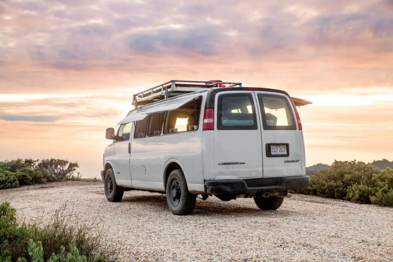 Look Inside The Coolest Van We've Ever Seen + Meet The Artist Who Calls It Home