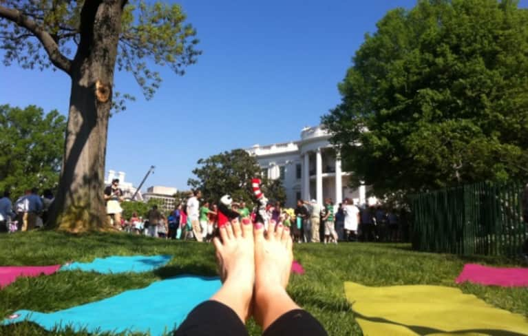 Kids Yoga at the White House Recap