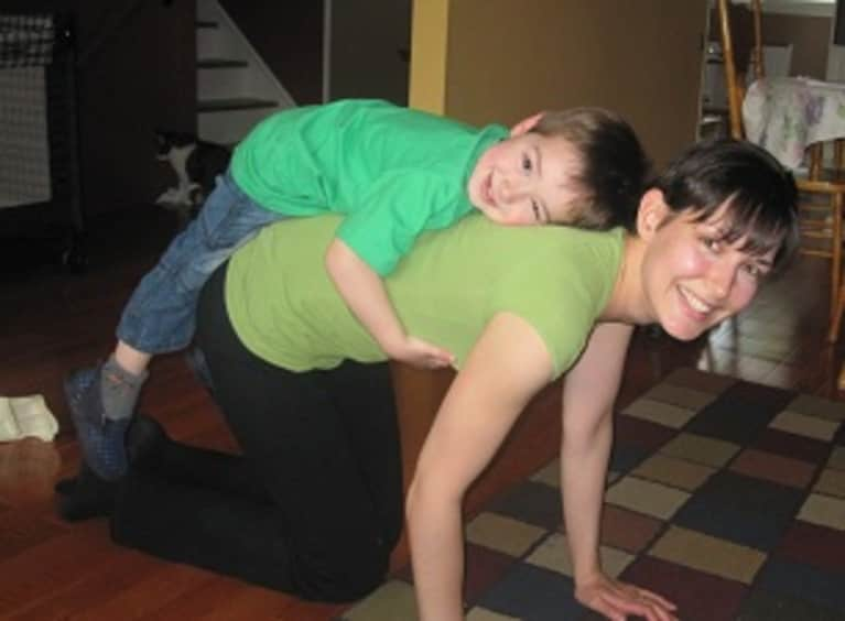What I Learned From Playing Yoga with My Son