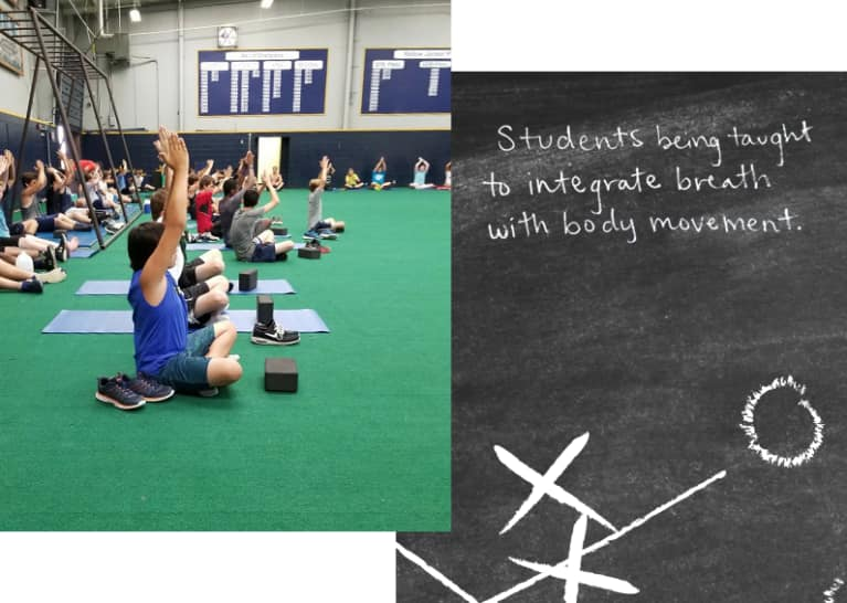 A Football Camp In A Tiny Texas Town Now Offers Yoga. Here's Why Every Single Player Is Doing It