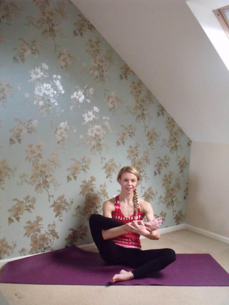 16 Yoga Poses For A Happy Holiday Season
