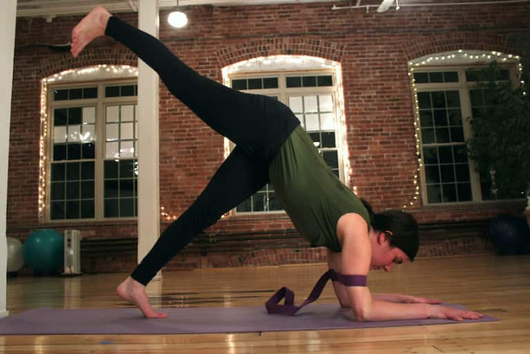 How To Build Strength For A Forearm Stand Practice