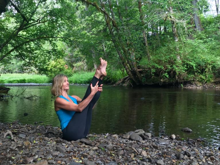 This Calming Yoga Flow Will Keep You Centered All Summer