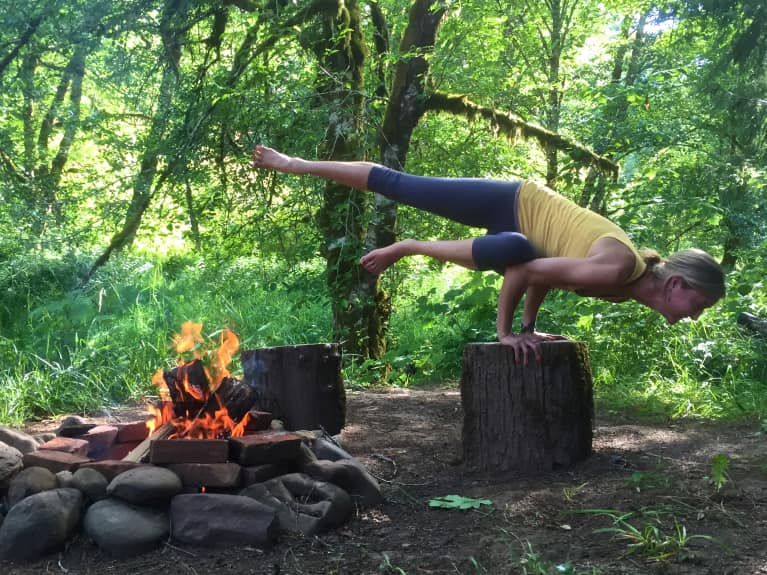 A Yoga Sequence To Burn Through Impurities & Fuel Transformation