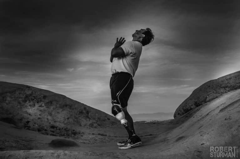 An Inspiring Yogi Takes His First Hike