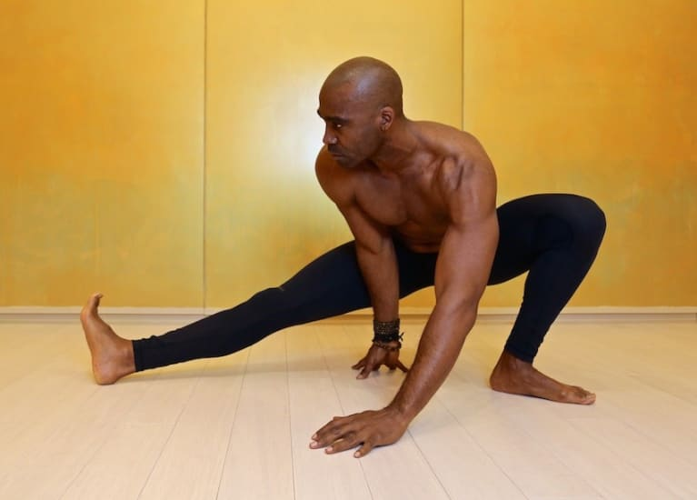 A Lower Back Yoga Sequence From A Former NFL Linebacker