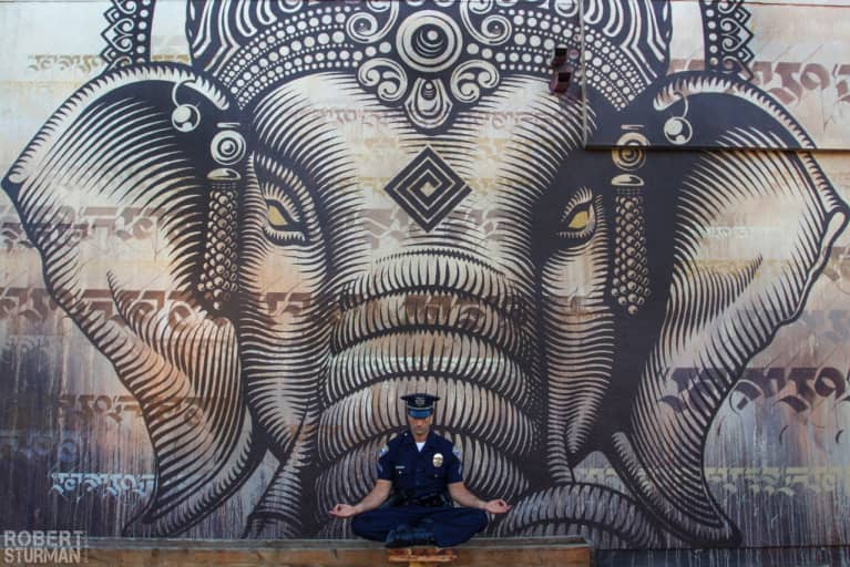 A Yogi In Uniform (Gorgeous Photos From LA)